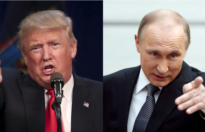 Why do you think Trump is cozying up to Russia?